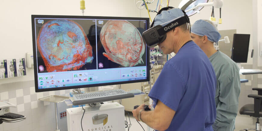 Top Virtual Reality Companies in Healthcare