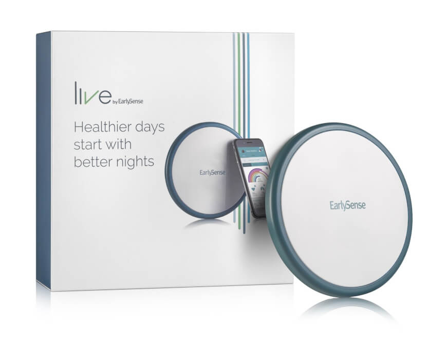 Health Sensor Under The Mattress: Live by Earlysense Review